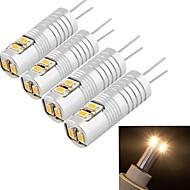 youoklight® 4pcs g4 2.5W 6 * SMD3014 100lm lampadine bianco caldo / freddo luce mais (AC / DC12V)
