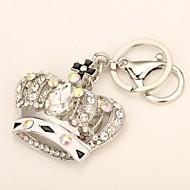 créatrice de mode sac de couronne de diamant de haute qualité trousseau de métal