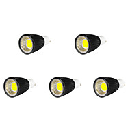 5 pcs MORSEN GU10 9W 9 COB 700-750 LM Cool White MR16 LED Spotlight AC 85-265 V