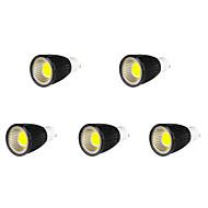 5 pcs MORSEN GU10 9 W 9 COB 700-750 LM Cool White MR16 Spot Lights AC 85-265 V