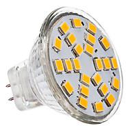 3W GU4(MR11) LED Spotlight 24 SMD 2835 230 lm Warm White / Cool White AC 12 V