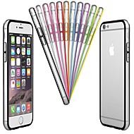 pc& TPU bumper kader case voor de iPhone 6s 6 plus