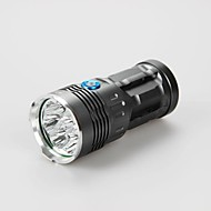 Sky Ray King DC 8 x CREE XML T6 LED Hunting Spotlight Flashlight Torch (9600LM,4X18650,3 Color))