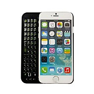 ultra-tynde back-light trådløs bluetooth 3,0 tastatur Case for iPhone 6