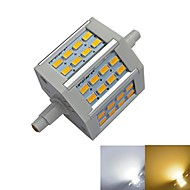 R7S 5 W 24 SMD 5730 350-450 LM Warm White/Cool White Recessed Retrofit Corn Bulbs AC 85-265 V