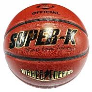 super-k ® # 7 pu basket en cuir