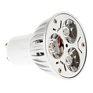 1 pcs GU10 6W 3 15-20/30-35 LM Red / Blue LED Spotlight AC 85-265 V