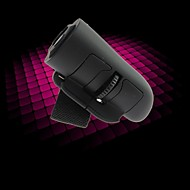 USB 2.4GHz Wireless Optical Finger Mouse 1600 DPI-Black