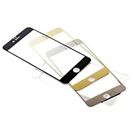 Colors Tempered Glass Screen Protector With Microfiber Cloth for iPhone 6