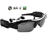 Video Sunglasses+MP3 player Glasses DV DVR Recorder camcorder Camera Sport Eyewear
