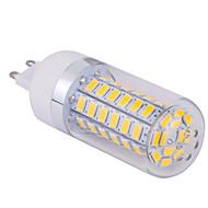 15W G9 Ampoules Maïs LED T 60 SMD 5730 1500 lm Blanc Chaud / Blanc Froid AC 85-265 V 1 pièce