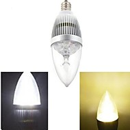1 Stück Ding Yao Kerzenlampen E14 15 W 120 LM 2800-3500/6000-6500 K 5 High Power LED Warmes Weiß/Kühles Weiß AC 85-265 V