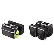 Basecamp® Fahrradtasche 5LFahrradrahmentasche / Handy-TascheWasserdicht / Regendicht / Staubdicht / tragbar / Multifunktions /
