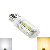 1pcs E27 SMD 5730 1656LM 2800-3500/6000-6500K Warm White/Cool White Corn Bulbs AC 220V