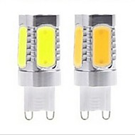 1pcs G9 10W COB 120LM 2800-3500/6000-6500K Warm White/Cool White Recessed Lights AC 220V