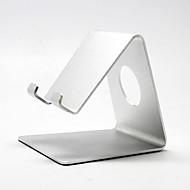 desktop stil aluminiumlegering stativ för iPad - silver