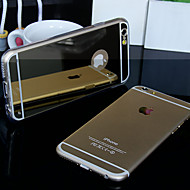 BIG D Mirror Acrylic Back Case for iPhone 6 (Assorted Color)
