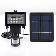 Y-SOLAR 60 LEDs Solar Powered LED Emergency Rechargeable Lights LED Light Camping PIR Sensor Outdoor Solar Lamps SL1-17