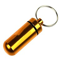 outdoor keychain creativo bottiglia prima pillola aiuto (colore casuale)