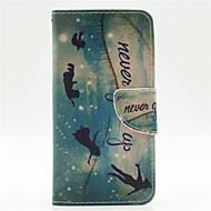 Для Кейс для  Samsung Galaxy Кошелек / Бумажник для карт / со стендом / Флип / С узором Кейс для Чехол Кейс для Слова / выражения