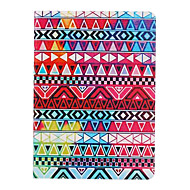 The Geometry Pattern PU Leather Full Body Case  for iPad Air