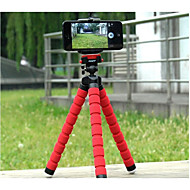 Adjustable Tripod Stand Holder for IPhone, Cellphone ,Camera and Case Star Cellphone  (Assorted Colors)