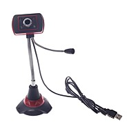 - Webcam 8.0 - 640 x 480 - LED Nachtsicht/Eingebauter Mikrofon/HD Videotelefonie/Flexibel - Tragbar