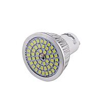6W GU10 Lâmpadas de Foco de LED 48 SMD 2835 600 lm Branco Frio Decorativa V 1 pç