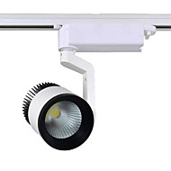 1 pieza MORSEN 30 W COB 3000 LM Blanco Cálido/Blanco Fresco Rotatoria Luces de Rail/Luces LED de Escenario/Luces LED de Rail AC 100-240 V