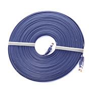 5 metri di supporto di trasmissione cavo di rete Cat6 rj45 rete pvc 10/100/1000 Mbps