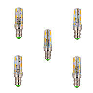 5 Stück Dimmbar Mais-Birnen E14 8 W 720 LM 2800-3200/6000-6500 K 120 SMD 3014 Warmes Weiß/Kühles Weiß AC 220-240 V