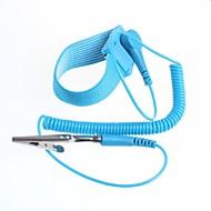 muñequera antiestática con cable de tierra