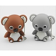 Cute koala Model USB 2.0 Enough Memory Stick Flash pen Drive 4GB