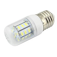 1pcs  E26/E27 7W 27SMD 5730 648 LM 2800-3500K K Warm White Corn Bulbs DC 12 V