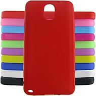 jelly siliconen case voor Samsung Galaxy Note 3