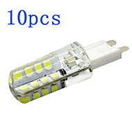 10Pcs G9 4W 32 LED Bulb 360LM 2800-6500K 2835 SMD Chandelier Crystal Lamp Home Lighting AC 220V-240V