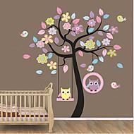 애니멀 / 건축 / 보태니컬 / 로맨스 / 정물화 / 패션 / 풍경 벽 스티커 플레인 월스티커 데코레이티브 월 스티커,종이 자료 이동가능 홈 장식 벽 데칼