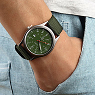 Fashion Leisure Men's Watch Calendar Canvas Band(Assorted Colors) Wrist Watch Cool Watch Unique Watch