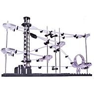 spacerail nivå en skena 5000mm diy spacewarp Erector Set byggsats pedagogiska berg-och dalbana leksaker