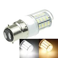 B22 7W 40x5630SMD 1600LM 3500K 6000K Warm White/Cool White Decorative Corn Bulbs  AC220-240V