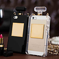 Unique Perfume Bottle Bag Design Soft Case with Chain for iPhone 5/5S
