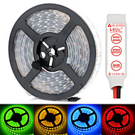 HML Dual-Row 5M Waterproof 600 x 5050 SMD RGB Light LED Strip Lamp with HML RGB controller Set (12V)