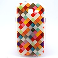 Για Samsung Galaxy Θήκη Με σχέδια tok Πίσω Κάλυμμα tok Γεωμετρικά σχήματα TPU Samsung Trend Lite