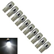 Jiawen® 10pcs t10 0.5w 40-90lm 6000-6500k lâmpada de fabricação branca branca leve levou luz de carro (dc 12v)