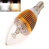 12W E14 LED gyertyaizzók Nagyteljesítményű LED 350 lm Meleg fehér / Hideg fehér AC 85-265 V 1 db.