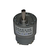 12v dc 120 rpm mini caja de engranajes 12v motor eléctrico de corriente continua de 37 mm de alto par