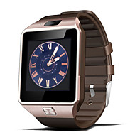 Moda DZ09 Wearables Smart Watch, chamadas Hands-Free / Câmera 2.0MP / Mate Bluetooth / câmera remota para Android e iOS