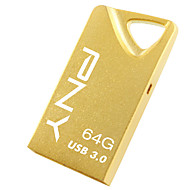 PNY High Speed T3 Attaché Gold Edition 64GB USB3.0 Flash Drive Pen Drive