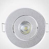3 W 200-250 LM 3000-3500K Warm White/Cool White Recessed Retrofit Dimmable Recessed Lights AC 220V
