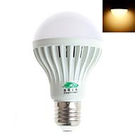 Ampoules Globe Blanc Chaud/Blanc Froid Zweihnder 1 pièce E26/E27 7 W 12 LED Haute Puissance 600 LM 5500-6000/3000-3500K K AC 85-265 V